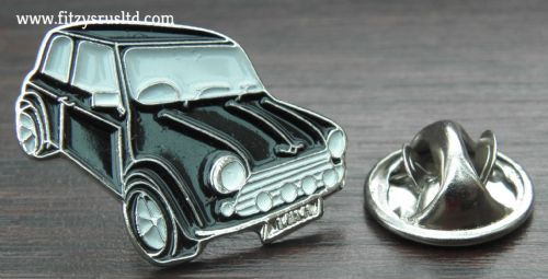 Black Mini Lapel Cap Hat Tie Pin Badge Brooch - Car - Motor Gift Souvenir - New